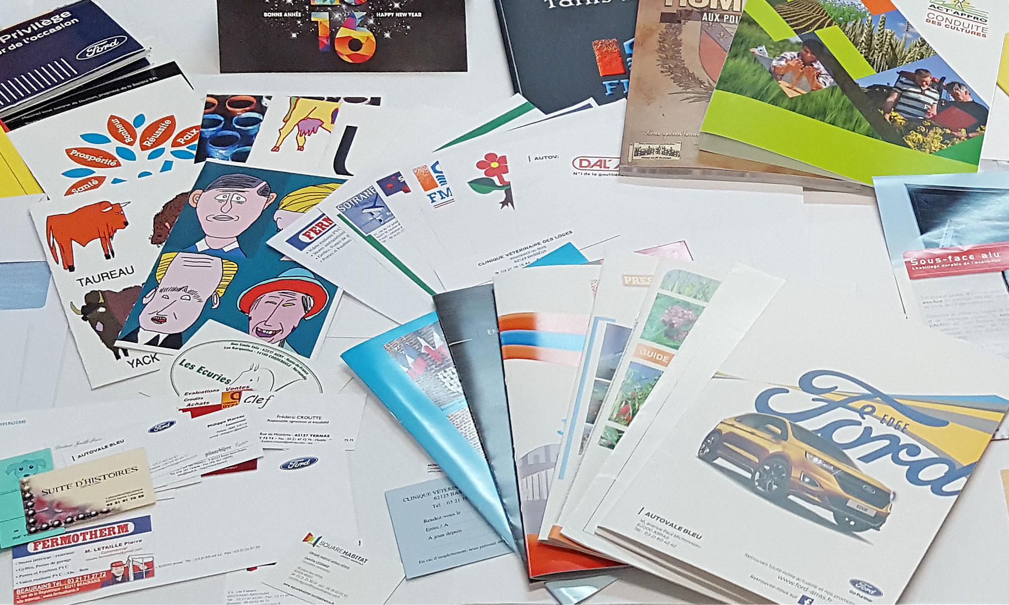 imprimés divers pour entreprises