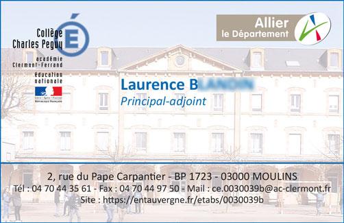 Carte De Visite Et Correspondance